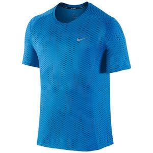 Nike Men's Dri-Fit Miler Fuse Active Sports Shirt
